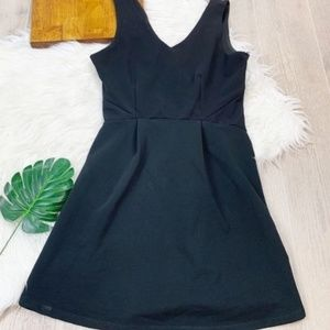 Monteau fit and flare dress